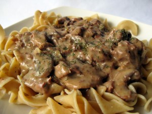 Slow-Cookers-Beef-Stroganoff